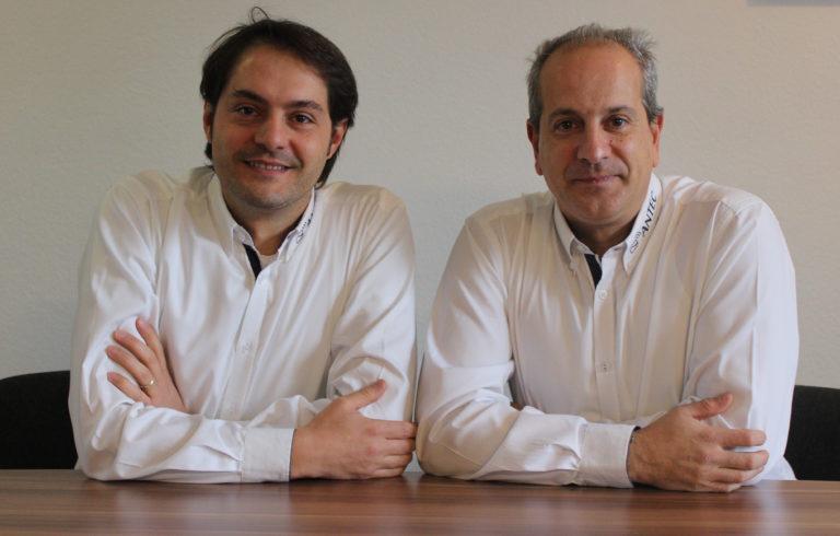Geschäftsführer Roberto Careddu (links) und Pablo Gonzalez (rechts)